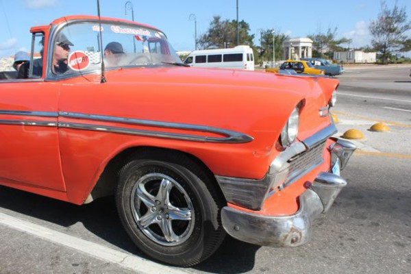 Old American Car - La Habana