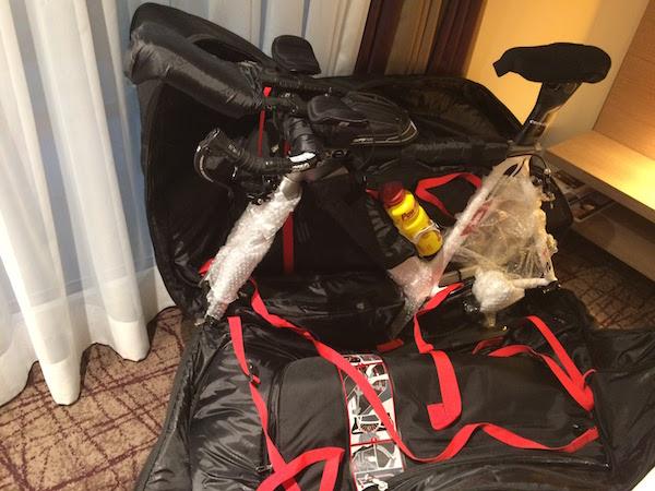 Scicon aeroconfort bag - Cervelo P2
