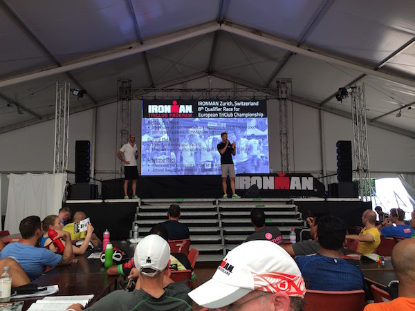 Ironman Zurich Race Briefing