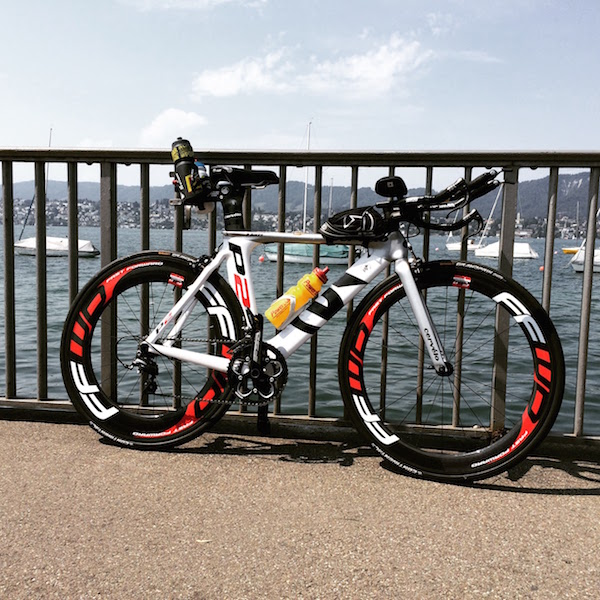 Cervelo P2 on FFWD Carbon Clincher