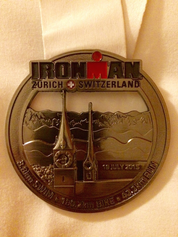 Ironman Zurich Finisher Medal