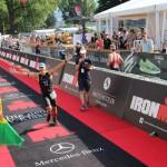 Ironman Zurich Finish Line